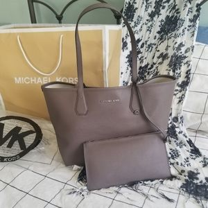 Micheal Kors Candy Cinder Reversable Tote Bag